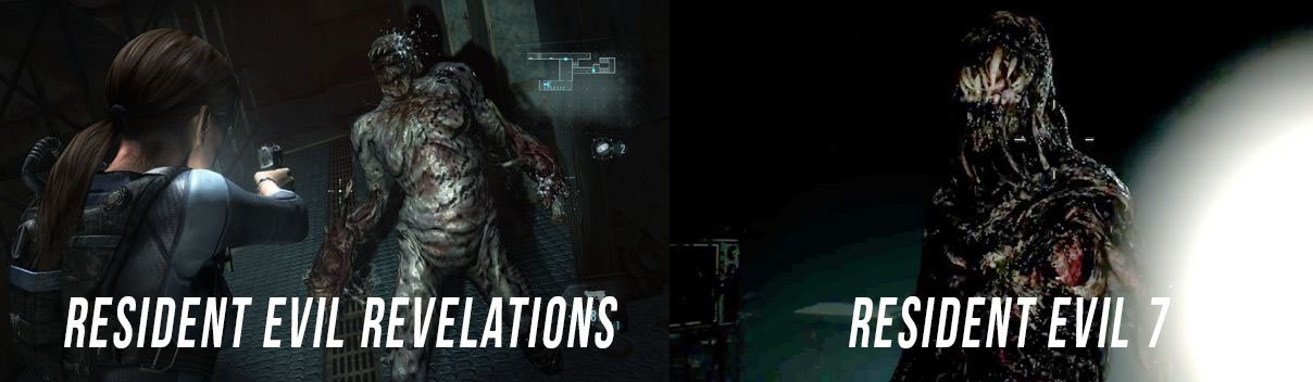 resident evil 7 and revelations enemies