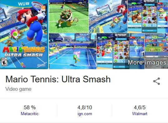 Mario Tennis Ultra Smash Mediocre Scores